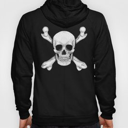 Jolly Roger - Deaths Head Pirate Skull Charge Hoody