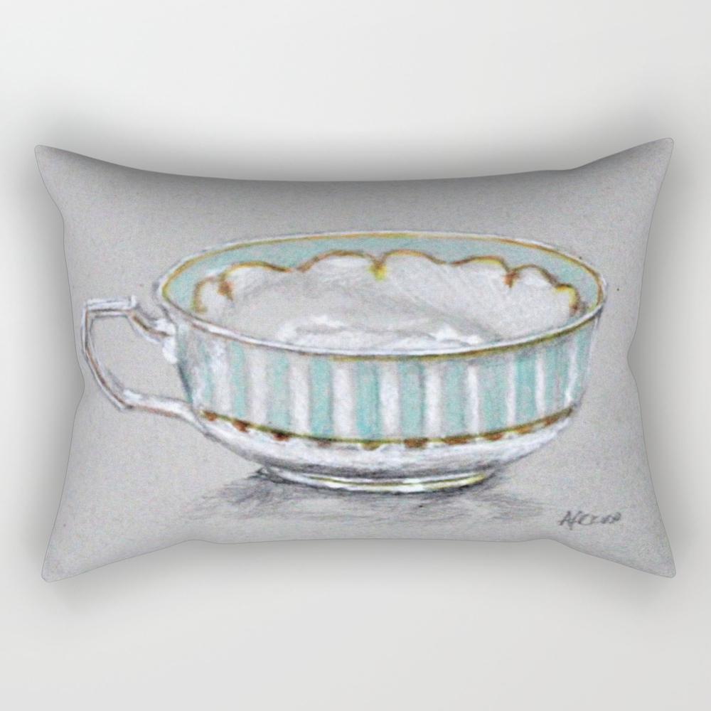 A Cup Of Tea Rectangular Pillow RPW8785165