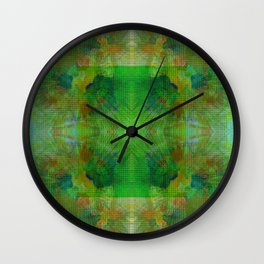 Spin Posie Wall Clock