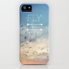 Fly with Me iPhone (5, 5s) Slim Case