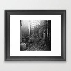 hens . holga Framed Art Print