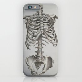 Skeleton Study iPhone Case