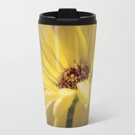 Yellow Calendula Travel Mug