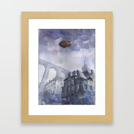 Back to Brittany Framed Art Print