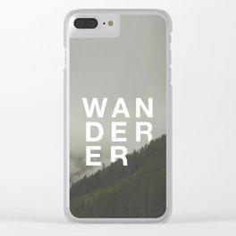 WANDERER V.2 Clear iPhone Case
