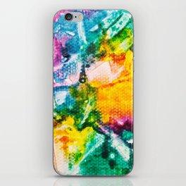 Rainbow Abstract #7 iPhone Skin