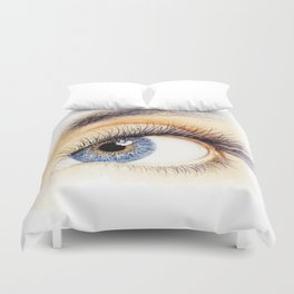 An eye Duvet Cover