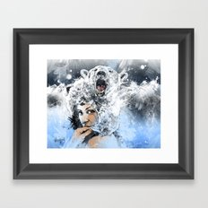 Arctic Tears Framed Art Print