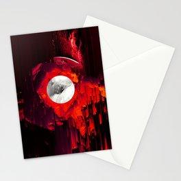 red_lights_black_hover Stationery Cards