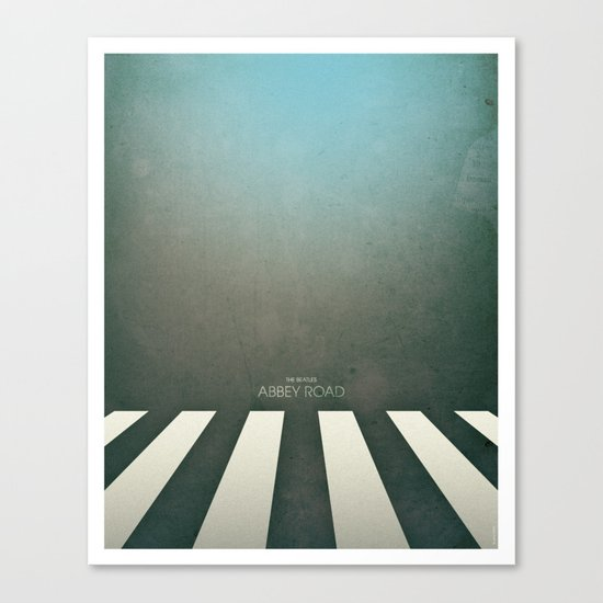 Smooth Minimal - Abbey road Canvas Print