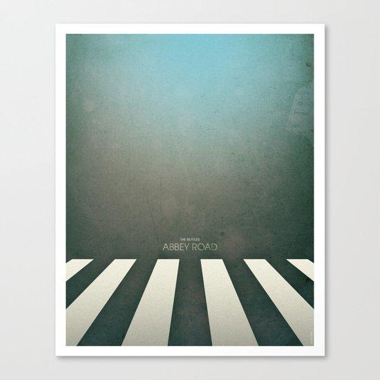 Smooth Minimal - Abbey road Canvas Print