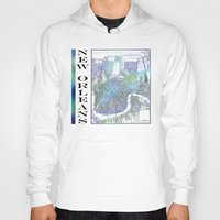 new orleans Hoodies featuring New Orleans by Catherine Holcombe