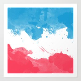 Love of France Art Print