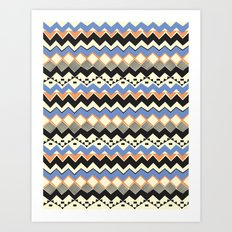 Ethnic Color Art Print