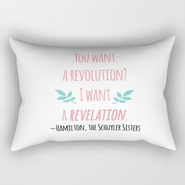 THE SCHUYLER SISTERS | HAMILTON Rectangular Pillow