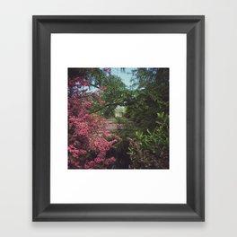 Garden Gazebo Framed Art Print