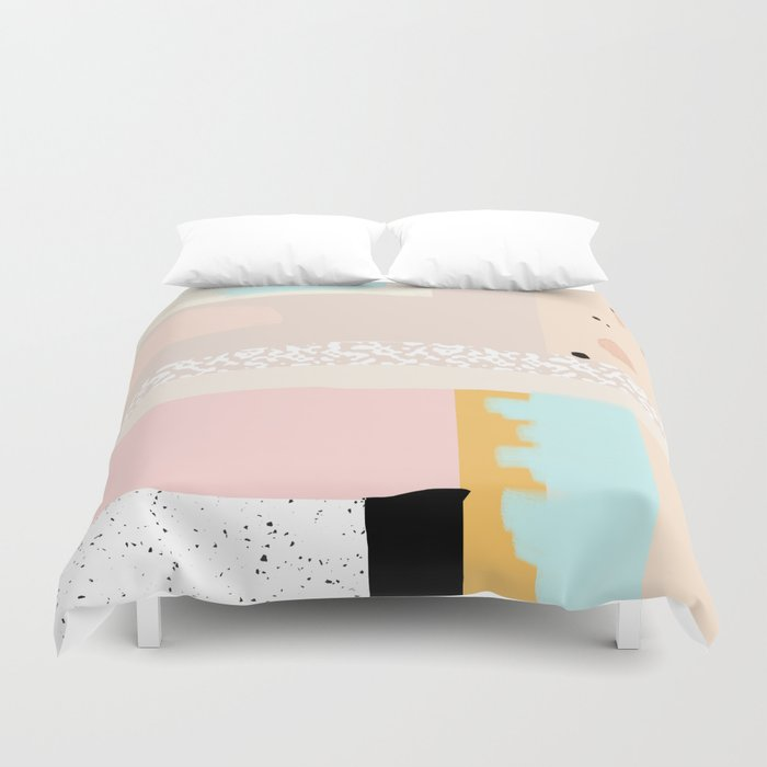 On the wall#3 Duvet Cover
