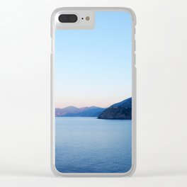 I See The Sea Clear iPhone Case
