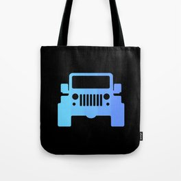Jeep 'Blue Gradation' Tote Bag
