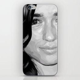 crystal reed iPhone Skin