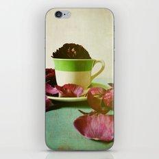 Petals Unfold, Opening to Life iPhone & iPod Skin