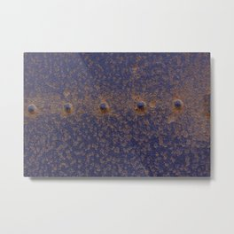 Marin Headlands Texture Metal Print