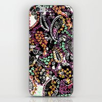 paisley iPhone & iPod Skins featuring PAISLEY by  Ray Athi