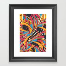 Slippery Slope Framed Art Print