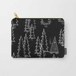 Lost in the wood, a lonely cabin (revers) Carry-All Pouch