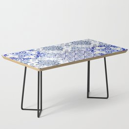 Azulejo VIII - Portuguese hand painted tiles Coffee Table