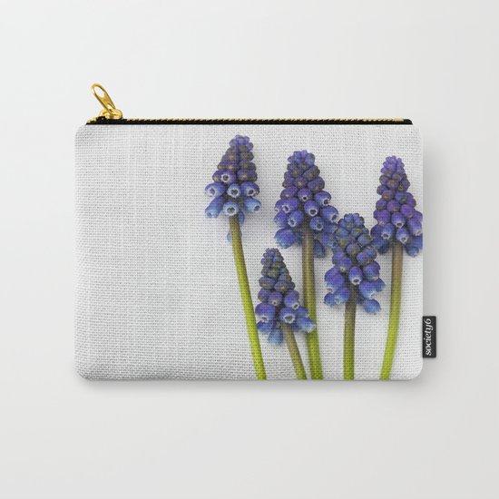 Muscari - Blue Grape - JUSTART © Carry-All Pouch