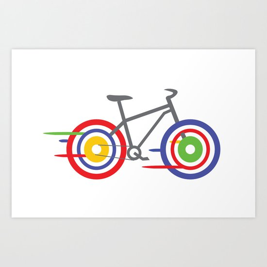 Bike! Art Print