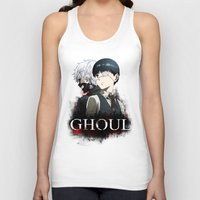 tokyo ghoul Tank Tops featuring Tokyo Ghoul by 666HUGHES