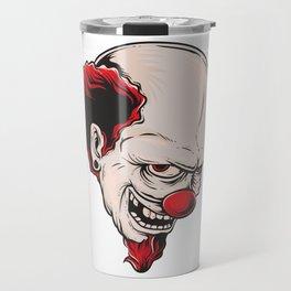Crazy Clown Travel Mug