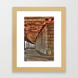 Railway Station  Framed Art Print