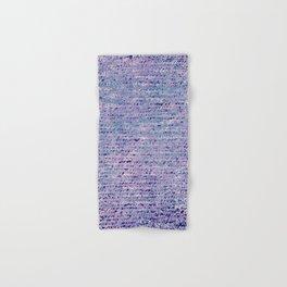 the stars died // text pattern 02 Hand & Bath Towel