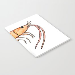 Prawn: Fish of Portugal Notebook