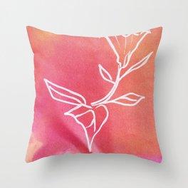 Floral No.22 Throw Pillow