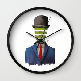 Layers of Thought Wall Clock