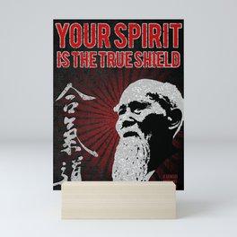 Aikido Spirit, O Sensei Morihei Ueshiba Mini Art Print