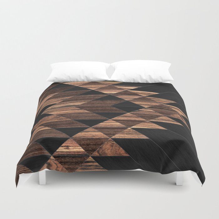 Urban Tribal Pattern No.11 - Aztec - Wood Bettbezug