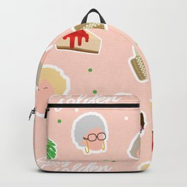 GG Pattern Cute Backpack