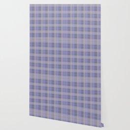 AFE Purple Plaid Pattern Wallpaper