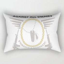 SOLEMN OATH Rectangular Pillow