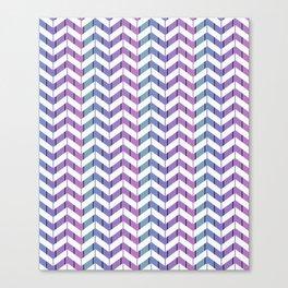 Zigzag striped pattern.2 Canvas Print