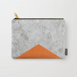 Concrete Arrow Orange #118 Carry-All Pouch