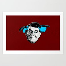 THE BUDDIE x RONALD REAGAN Art Print