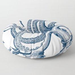 Octopus Navy Floor Pillow