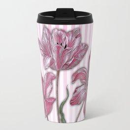 Maria Sibylla Merian: Three Tulips Travel Mug
