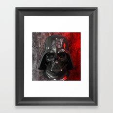 Darth Vader Skull 01 Framed Art Print